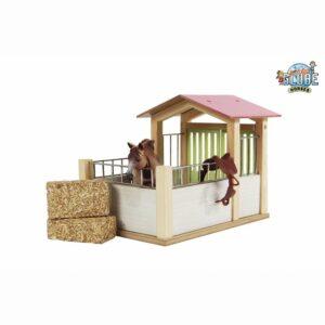 Stal Paardenbox Roze 14 X