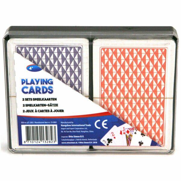 Speelkaarten In Doos 2 Se