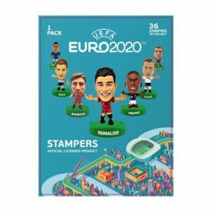 Euro 2020 Stempel Display