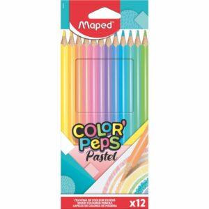 Kleurpotloden Pastel 12x
