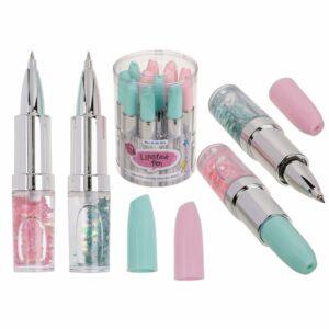 Pen Glitter Lipstick 4 As