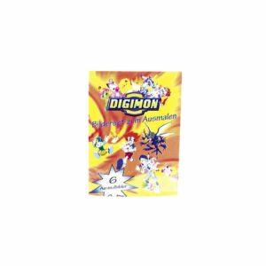 Kleurplaten Digimon