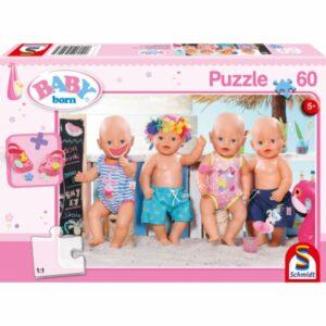 Baby Born Puzzel Zomer 60
