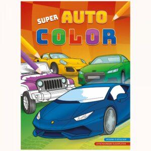 Kleurboek Super Auto Colo
