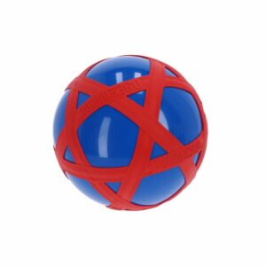 Blauwe Crossbal met Rode