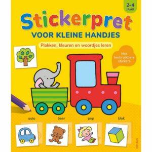 Boek Stickerpret Kleine H