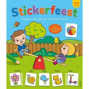 Boek Stickerfeest