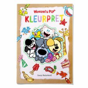 Kleurboek Woezel En Pip K