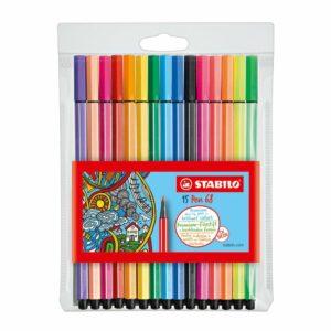 Viltstiften Stabilo Pen 6