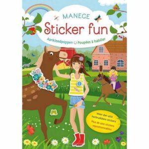 Manege Sticker Fun Boek A