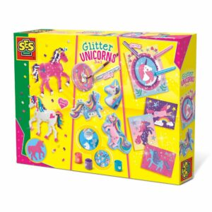 SES Unicorn Glitter 3 In