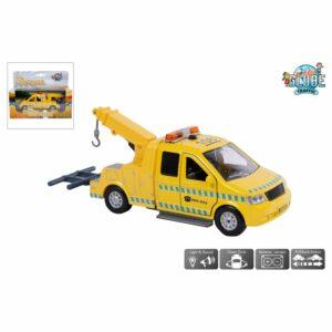 Auto Afsleepwagen Met Lic