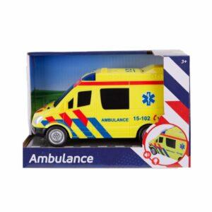 Ambulance Auto Met Licht