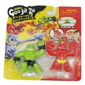 Goo Jit Zu Minis Versus P