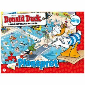 Donald Duck Puzzel 1000 s