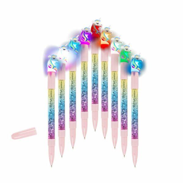 Pen Unicorn Glitter En Li
