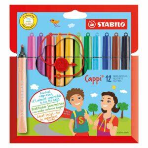 Viltstiften Stabilo Cappi