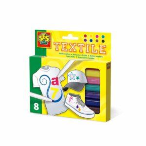 Textielstiften SES 8 Stuk